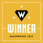 Nanowrimo award 2017